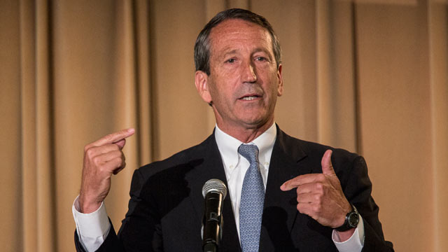 PHOTO: Former South Carolina Governor Mark Sanford, makes