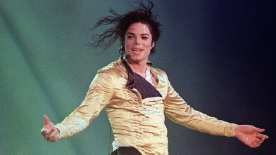PHOTO: Michael Jackson preforms in Brunei, July 16, 1996.