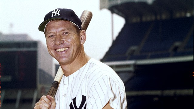 PHOTO: Mickey Mantle