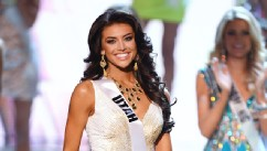PHOTO: Miss Utah USA Marissa Powell is named a top 15 finalist during the 2013 Miss USA pageant at PH Live at Planet Hollywood Resort & Casino, June 16, 2013 in Las Vegas, Nevada.