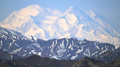 PHOTO: Mt. McKinley is pictured on May 14, 2014 in Denali National Park, Alaska.