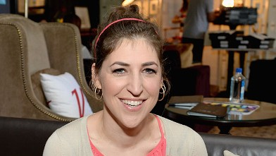PHOTO: Mayim Bialik attends the Variety Emmy Studio at Palihouse on May 29, 2013, in West Hollywood, Calif.