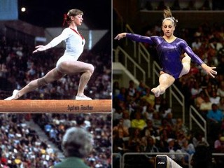 Photos: Olympic Bodies: Then and Now