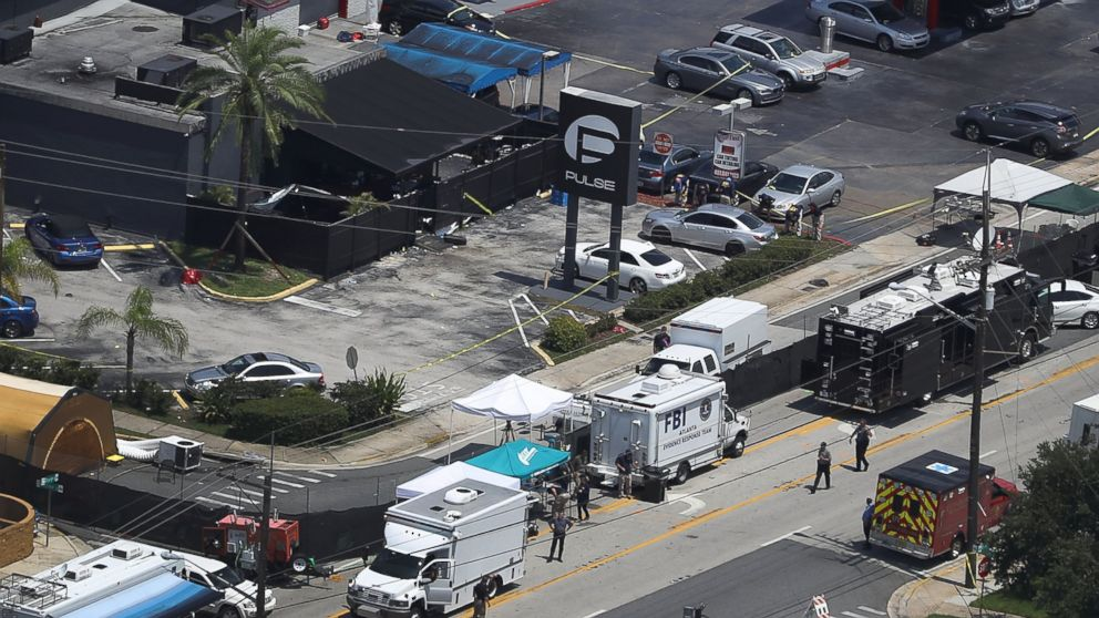'Gunshots going like crazy' in Pulse nightclub, 911 caller says