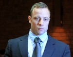 PHOTO: South African Olympic sprinter Oscar Pistorius appears at the Magistrate Court in Pretoria, Feb. 22, 2013.