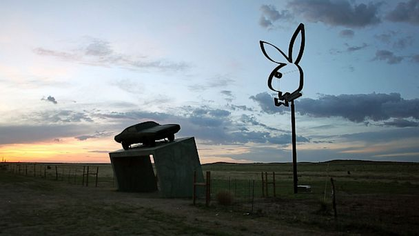 gty playboy marfa ll 130705 16x9 608 Playboy Bunny Sign Stirs Controversy Along West Texas Road