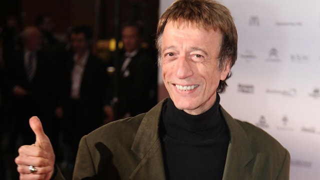 PHOTO: Robin Gibb attends the 'German Sustainability Award' at Maritim Hotel on November 26, 2010 in Duesseldorf, Germany.