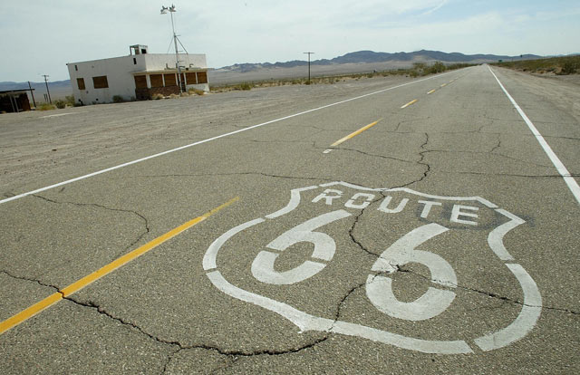 gty route 66 sign kb 130626 blog Route 66 Runs Forever