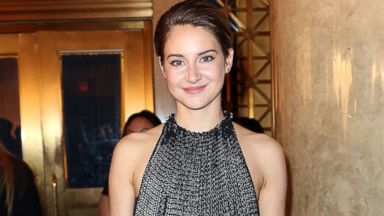 PHOTO: Actress Shailene Woodley is seen in attending the 23rd annual Gotham Independent Film Awards in this December 2, 2013 file photo taken in New York City.