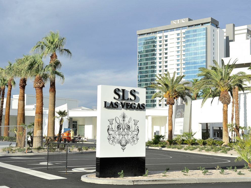 PHOTO: A general view of the exterior as SLS Las Vegas prepares to open after a renovation of the legendary Sahara Hotel & Casino on August 21, 2014 in Las Vegas.