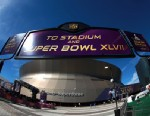 PHOTO: The exterior of the Mercedes-Benz Superdome is seen before the start of Super Bowl XLVII between the San Francisco 49ers and the Baltimore Ravens on February 3, 2013 in New Orleans.