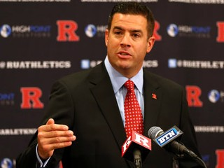 Rutgers Pres. Hangs On as AD Dumped