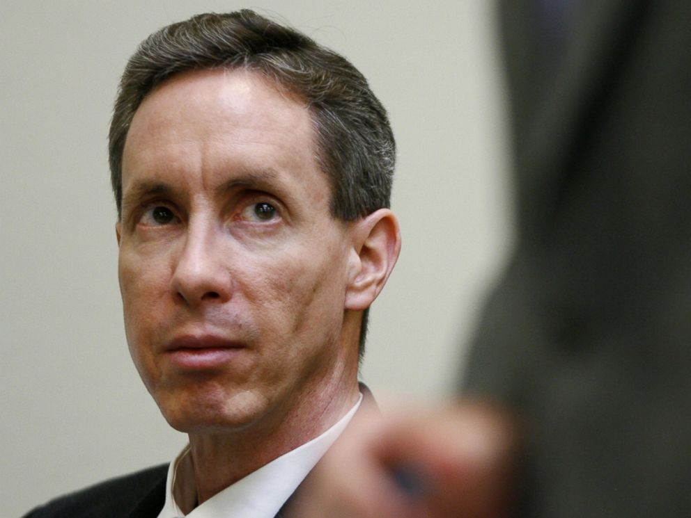 PHOTO: Warren Jeffs watches his attorney during Jeffs rape trial on Sept. 17, 2007 in St. George, Utah.