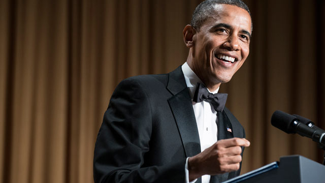 White House Correspondents' Dinner: Obama's Top 7 Jokes