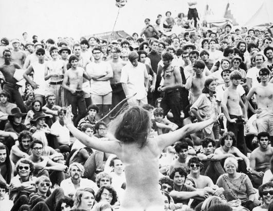 Anniversary of Woodstock Festival 
