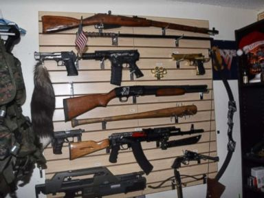 Deputies find weapons stash, note vowing 'bloody revenge' amid child porn inquiry
