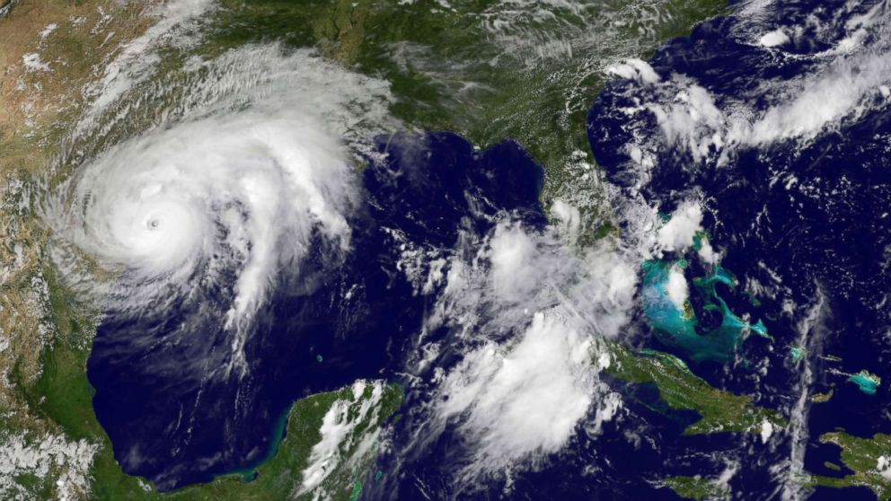 Hurricane Harvey Downgraded To Category 3 Storm As Winds