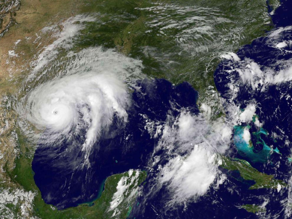 Hurricane Harvey Leaves Behind Damaged Homes Buildings