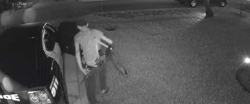 Police are looking for a man who stole an AR-15 from a police car in Pembroke Pines, Florida.
