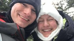 'Josh Darnell proposed to his girlfriend, Rachel Raske, in minus-34 degree weather on Mount Washington, N.H., on Thursday.' from the web at 'http://a.abcnews.com/images/US/ho-john-darnell-proposal-mo-20171231_16x9t_240.jpg'