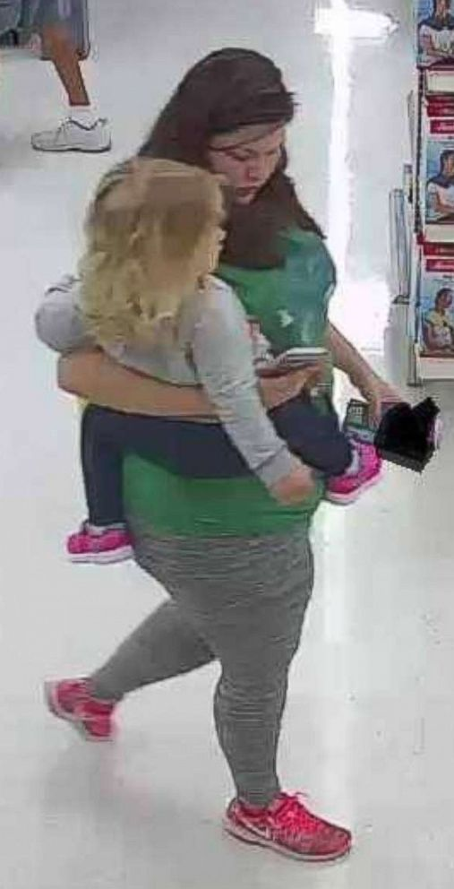 The FBI and Onslow County Sheriffs Office is looking for help in identifying the woman and child in this photo in connection with the search for missing toddler Mariah Woods.