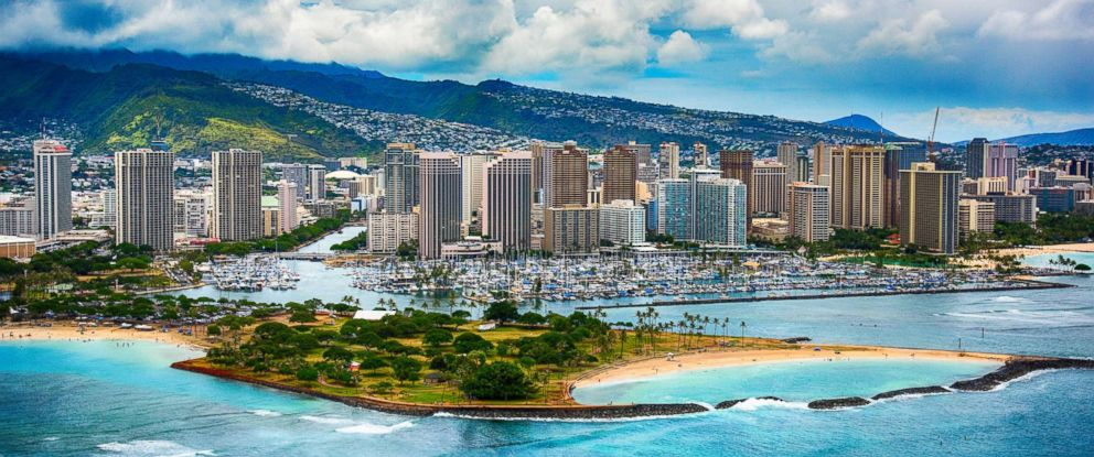 PHOTO: The coastline Honolulu, Hawaii is pictured in this undated stock photo.