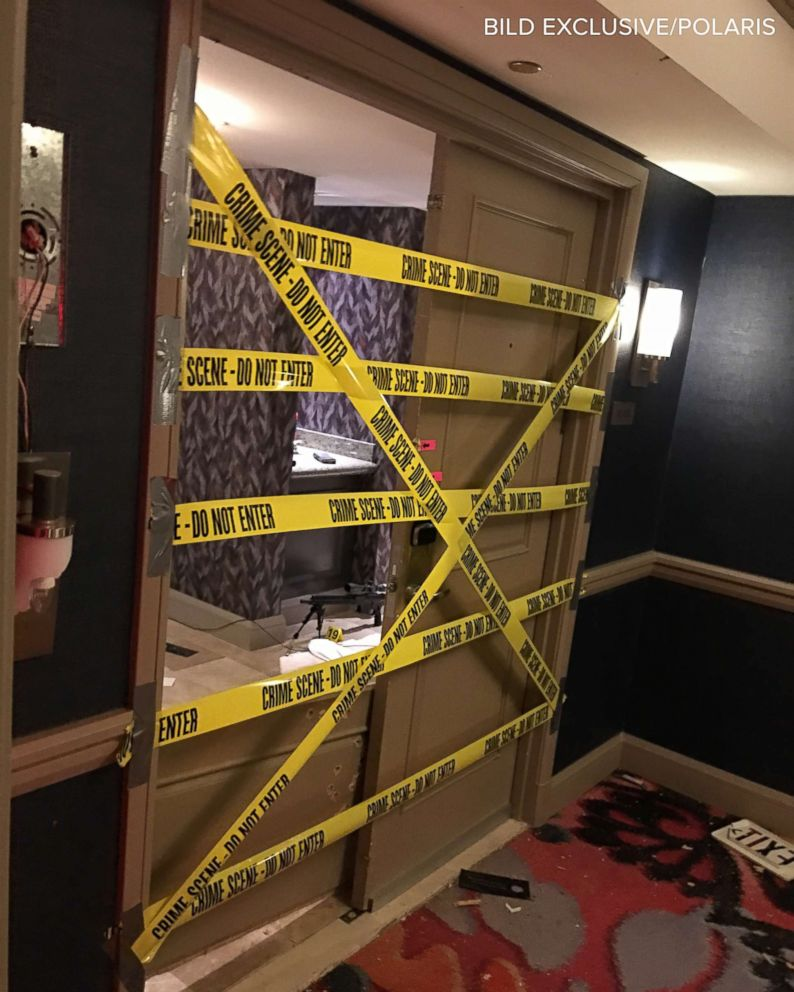 PHOTO: A scene from the inside of the Mandalay Bay Resort and Casino on the Las Vegas Strip, Oct. 3, 2017 just outside the shooters suite on the 32nd floor of the hotel.