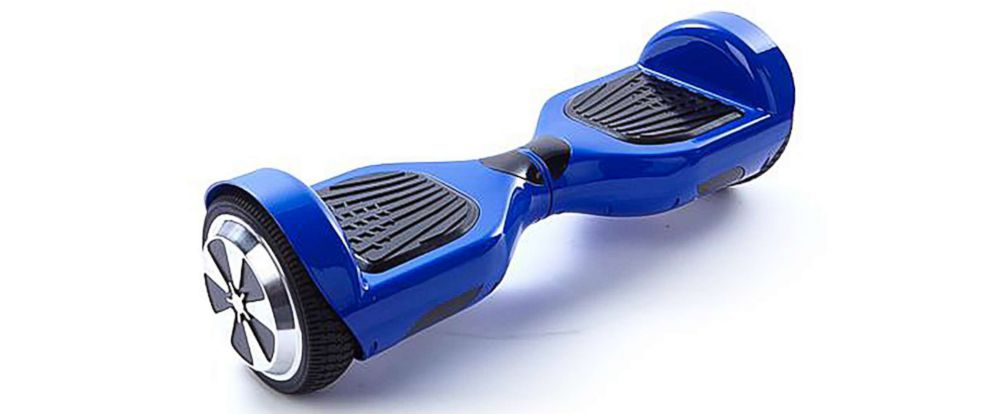 PHOTO: The CPSC shared this image of a hoverboard with the announcement of a recall of the self-balancing scooters sold by Drone Nerds, Nov. 14, 2017.