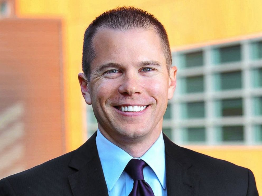 PHOTO: Matt Mika, who works as a lobbyist for Tyson Foods, was shot June 14, 2017, in Alexandria, Va., when a gunman opened fire on a baseball field where congressmen where gathered.