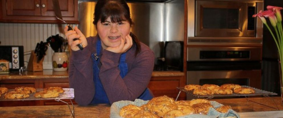PHOTO: Collette Divitto, a woman with Down Syndrome, started her own cookie business in Boston, Massachusetts.