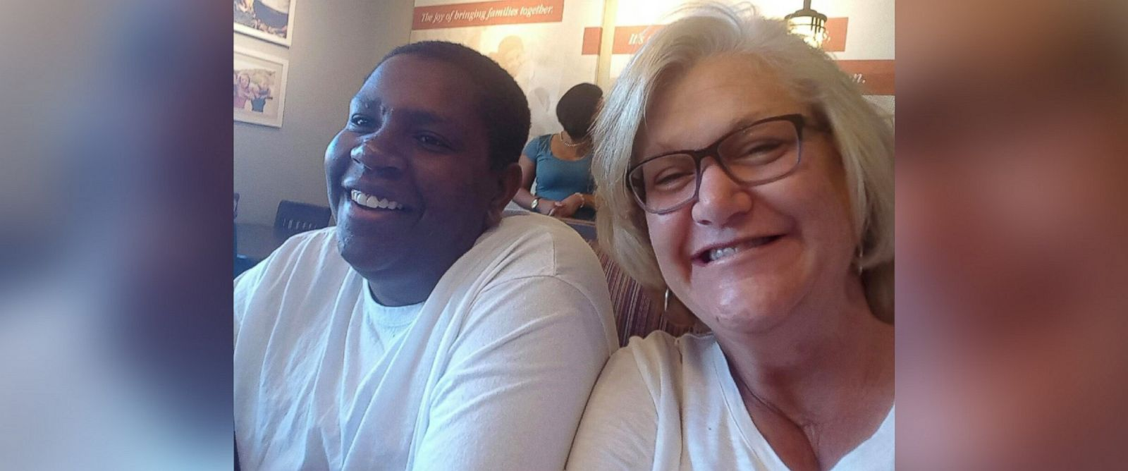 PHOTO: Davion Only-Going, 19, who captured the worlds heart in 2013 when he publicly pleaded for a family, was adopted by his former caseworker Connie Going in 2015.
