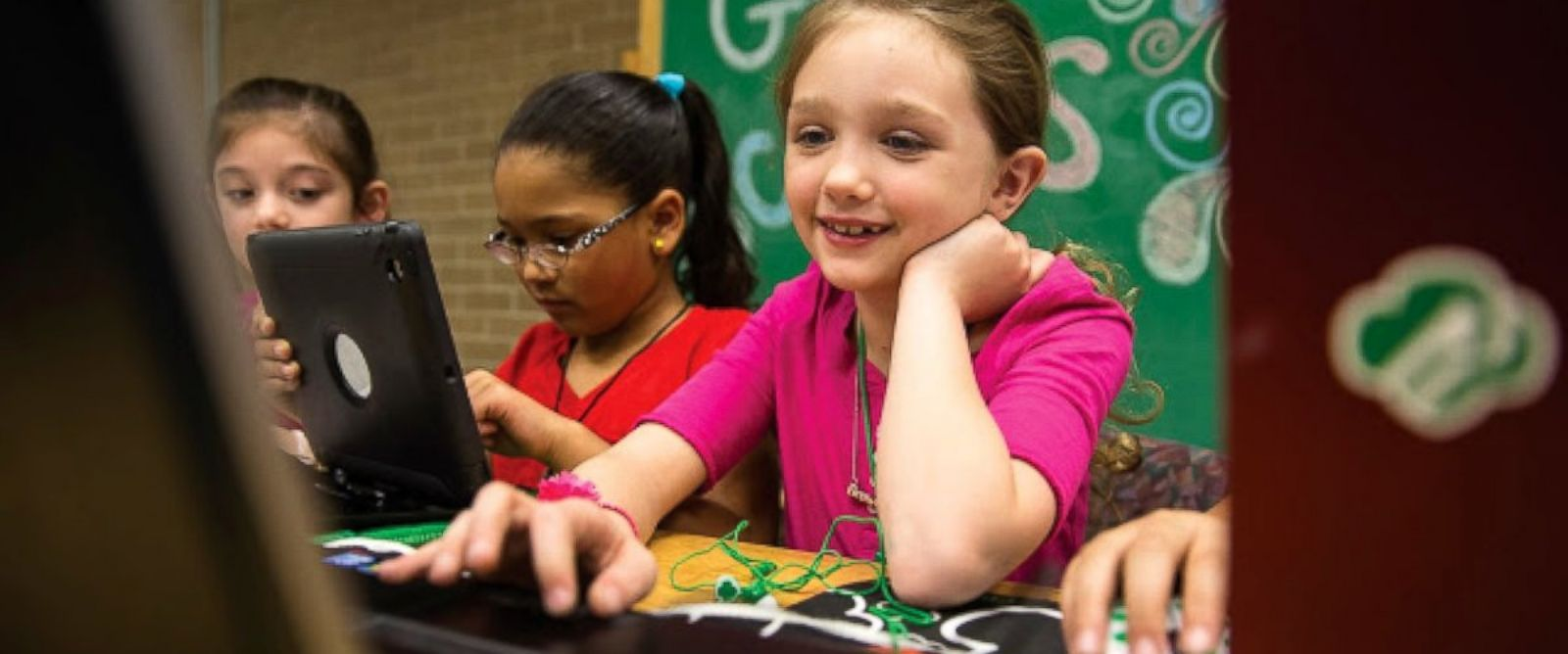 PHOTO: Girl Scouts USA announced they will roll out 18 new cybersecurity badges in the fall of 2018.