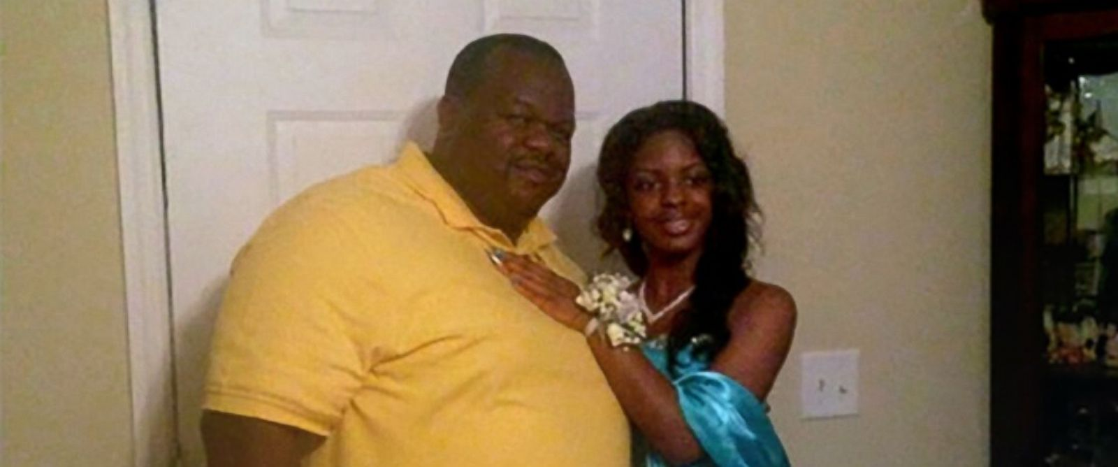 PHOTO: Charles Manigo is pictured with his daughter Alexis Kelly, who was later identified as Kamiyah Mobley, who had been abducted as a newborn.