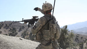 PHOTO Reporter Mike Boettcher was embedded with U.S. troops in Afghanistan when the Taliban ambushed their group.