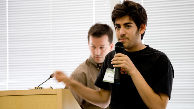 PHOTO: Aaron Swartz is pictured in this fil