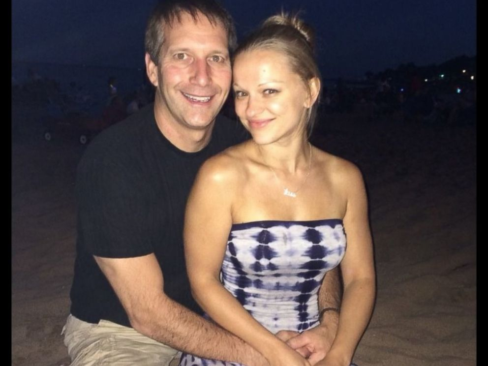 PHOTO: Angelika Graswald moved in with Vince Viafore weeks after meeting.