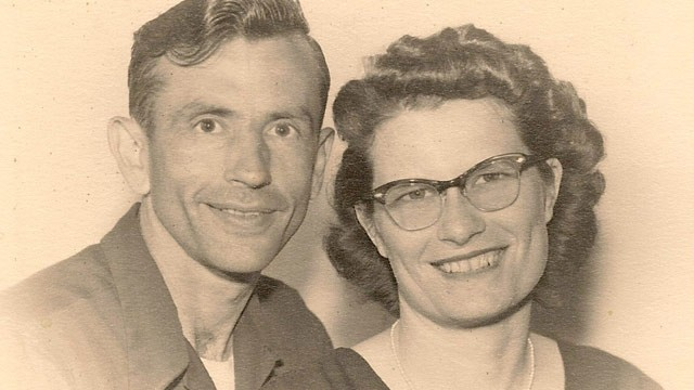 PHOTO:&nbsp;Gordon and Norma Yeager were married for 72 years.