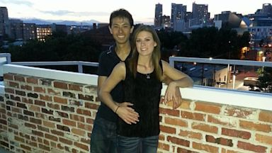 PHOTO: Eugene Han, 21, and Kirstin Davis, 22, survived the Aurora movie theater shooting together and are getting married on the one-year anniversary of the shooting, July 20, 2013.