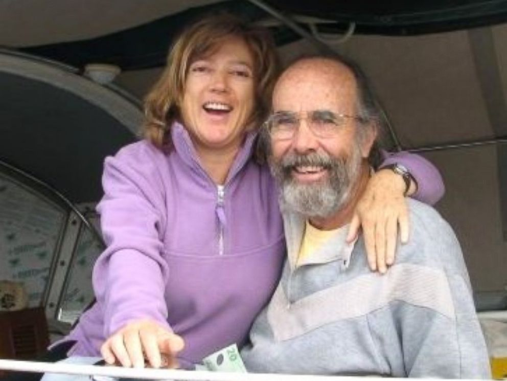 PHOTO: Doug and Sylvia Nash in New Zealand in 2007.