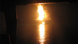 Oil Rig Explodes off Louisiana Coast; 11 Missing