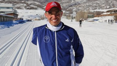 PHOTO: Oscar Bermejo at the 2014 U.S. National Biathlon Championship in Soldier Hollow, Ut.