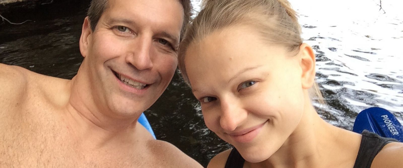 PHOTO: Vincent Viafore and Angelika Graswald got engaged five months into their relationship.