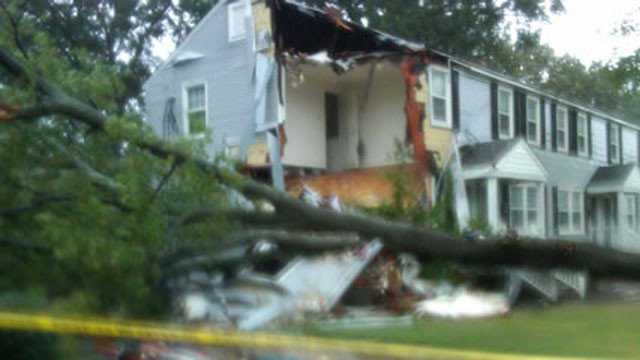 PHOTO:&nbsp;Hurricane Irene: Storm Hits North Carolina, Blamed for Four Deaths