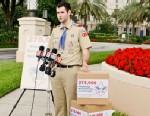 PHOTO: Zach Wahls, an Eagle Scout from Iowa, delivers 275,000 signatures to the Boy Scouts at their National Annual Meeting in Florida, May 30, 2012.