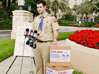Boy Scouts Reconfirm Anti-Gay Policy