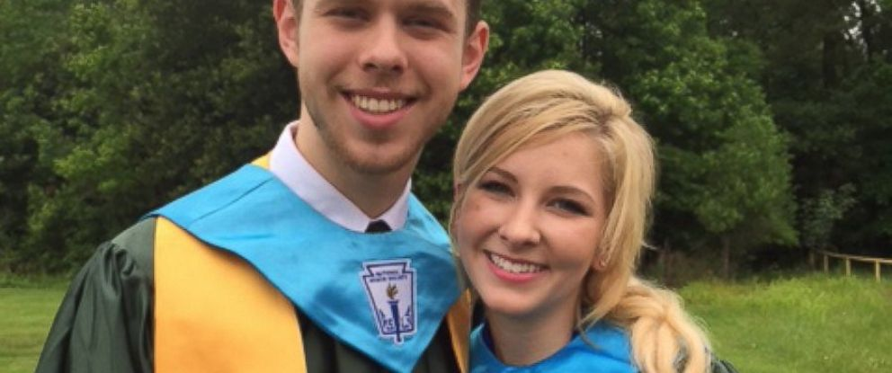 PHOTO: Aaron Rose and Makenzie DiLeo are pictured.