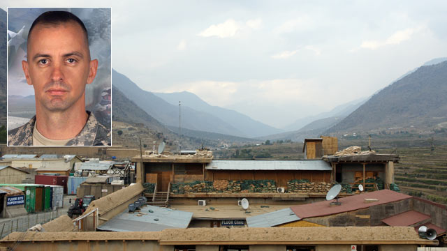 PHOTO: Forward Operating Base Bostick, located in the Kunar Province of Easern Afghanistan, was named for Maj. Thomas G. Bostick Jr.