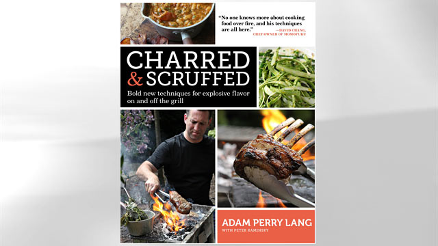 PHOTO: Cover of chef Adam Perry Lang's new cookbook, Charred & Scruffed.