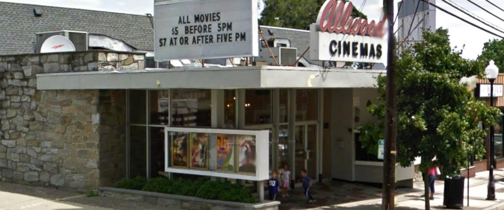PHOTO: Allwood Cinemas 6 in Clifton, New Jersey appears in this screen grab from Google Maps.