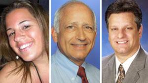 L-R: Christine Gianacaci, Richard Bruno, Patrick Hartwick
